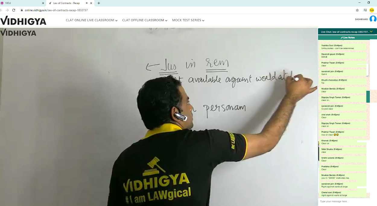 https://www.vidhigya.in/Online Classroom at Vidhigya
