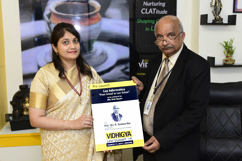 https://www.vidhigya.in/VC - NLSIU Bengaluru, Prof. R. Venkata Rao inaugurating Vidhigya Campus